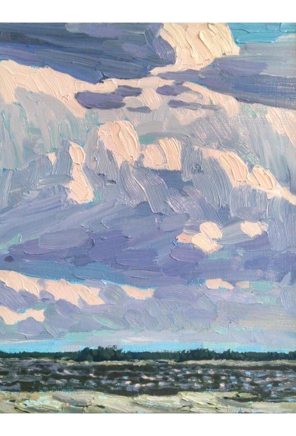 Bryan Wall – Purple Thunder Study, 12 Mile Bay