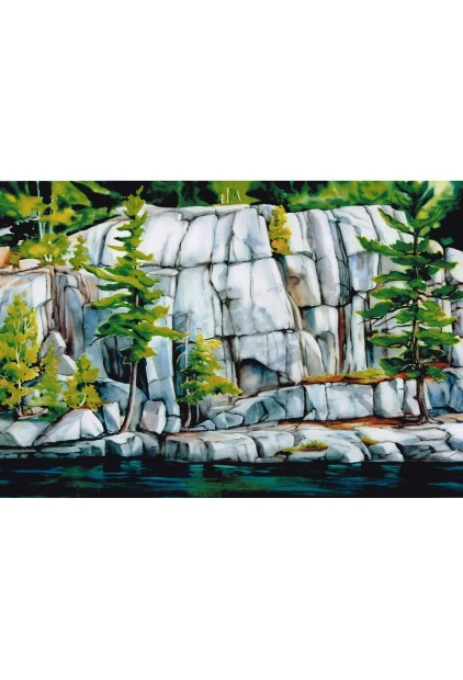 Manitoulin Rocks by Johanna Van Kempen