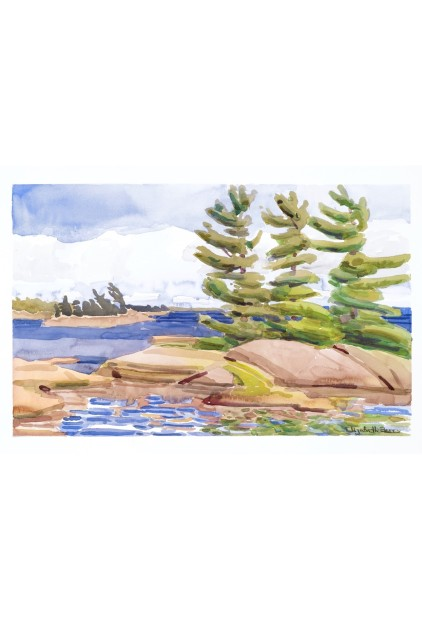 Elizabeth Berry – Island Georgian Bay (American Camp)
