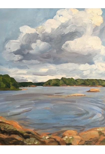 """""""East View from Webber Island"""" – Wendy Wingfelder"""