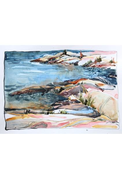"""Georgian Bay II"" – Patricia Peacock-Evans"