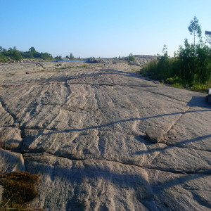 Thomson cottage rock barren