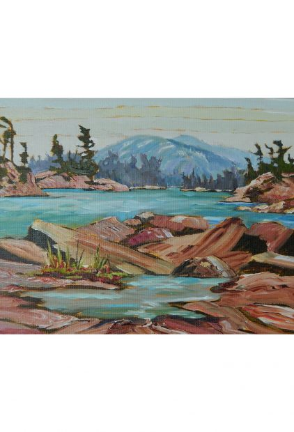 David Hodgetts – Chikanishing Shoreline to La Cloche Mountains