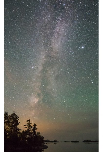 Karen Walsh – Starry Starry Night, Georgian Bay